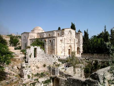 The Pools of Bethesda and the Church of St Anne