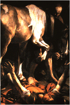 the Conversion of St Paul is by Caravaggio