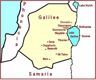 Galilee Map